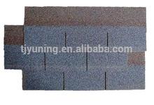 blue asphalt roof shingle
