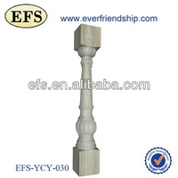 classical Europe style roman indoor wood railing(EFS-YCY-030)