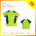 para hacer punto de colores de alta visibilidad de la camiseta para bicicleta