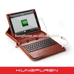 Bluetooth Keyboard portfolio with Built-in 3800mAh Power Bank