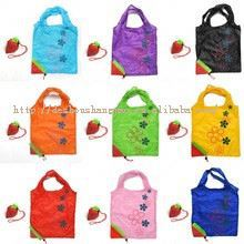 210D nylon cheap foldable bag with roller