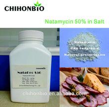Natamycin50% in Salt/food inhibitor/Natural food preservative