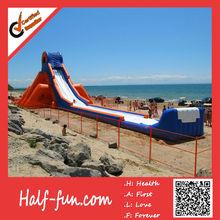 Popuplar Custom Logo Giant Inflatable Slide