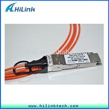 40G QSFP+ AOC Cable 3M Fiber Optic Equipment