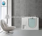 2014 Quality walk in Acrylic Bathtub with door for elder people with wholesale price(CB-LFAR)
