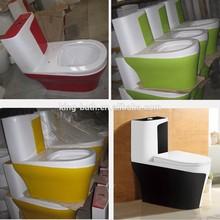 Design One Piece ladies Toilet ,ceramic orange siphonic one piece toilet,
