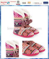 Gypsy Rose Fairisle knit boot/cheap girls fashion boots/long boots for girls