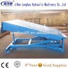 Stationary yard ramp dock leveler/ Coontainer loading ramp