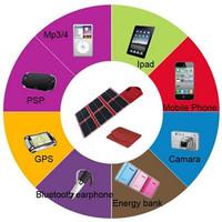 90W sunpower solar panel digital battery for 5v 18v 12v device