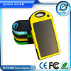 5000mah mobile solar charger with origianal manufacture
