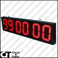 Manufacture Big Supply All Kinds of Timers Clocks Outdoor LED Display