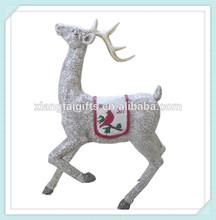 Christmas decoration resin deer
