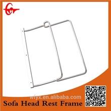 china supplier chrome furniture head rest frame