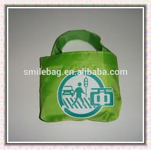 2014 NEW design recycled print nylon bags/nylon foldable bags/nylon shopping bags