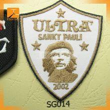 handmade blazer badge;hand embroidery blazer badges;kings grammar school graham blazer badge