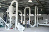 wood pellet dryer for wpc pvc pelletizing line