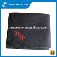 High quality fleece embroidery blanket