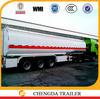 China Manufacture 3 Axle 45000L Liters Fuel Tank Semi Trailer for Sale