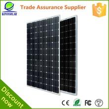 15w mono best price per watt solar panels