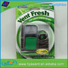 Factory high quality scented paper vent air freshener for car