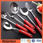 Silicone Colorful Handle 7 Pcs Fat magnet Removes Kitchen Utensil Set