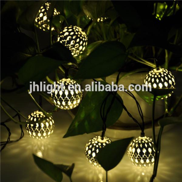 Marocchina 10 palline string lanterne solari albero di ...