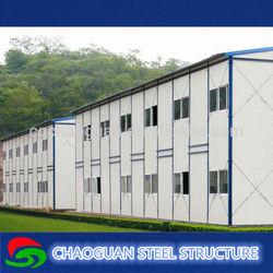 Light steel structure modern cheap prefabricated prefab house