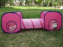 Cat Kitten Pet Play Tent Tunnel Playground Toys Cat tub Cat play