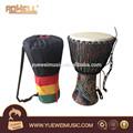a áfrica tambor africano tradicional tambor de instrumento de percussão musical