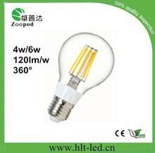 CE ROHS 85-260V led filament lamp 4W 2014 hot selling led filament bulb