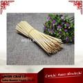 ventas al por mayor baratos y barbacoa palo de bambú para la herramienta de barbacoa