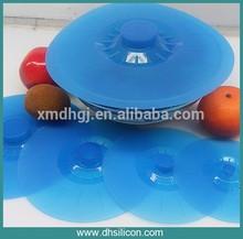 """FDA,LFGB/Food rade material/5""""-12"""" silicon pot/ cup lid"""