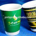 Papel coffe cup, Logotipo impresso copo de papel, Copo de parede dupla