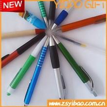 Custom design Advertising plastic ball pens With Clip