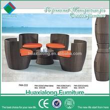 New design! Outdoor stakable garden rattan garden furniture FWA-222