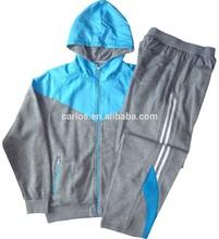 men jogging suit man training set fleece sport wear