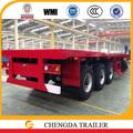 eixo 3 40 ft semi reboque caminhão reboque para transporte de madeira