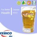 100% Natural Chlorella roto pared papaína enzima de la piña de probiótico tabletas suplemento dietético