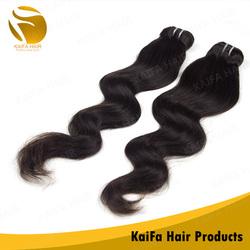 KaiFa Fashionable Raw Brazilian Good Thick Hair Weaving