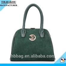 factory price nubuck lady bags handbag bowler bag