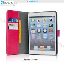 New arrival case for apple ipad mini 3,for ipad mini 3 case,leather case for ipad mini 3