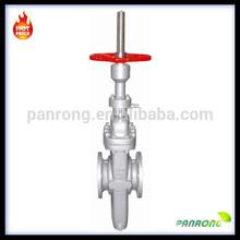 API6D Rising stem yoke slab gate valve