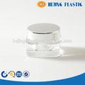 3g como shining frasco plástico com tampa de alumínio