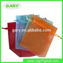 Colorful Drawstring Organza Bag from China