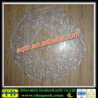 plastic disposable washing shower cap for women