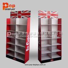 cardboard floor stand put commodity
