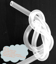 clear silicone rubber tube