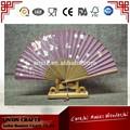 de alto grado chino de seda de bambú del ventilador para regalo de empresa