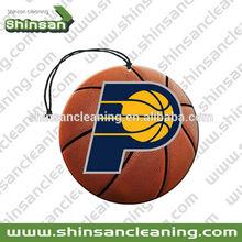 hanging basketball car air freshener
