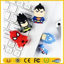 alibaba+express New model super spiderman usb flash drive on sale